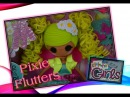 LaLaloopsy GIRLS Opening Review on the New Doll Pix E. Flutters