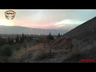 26.11.2015. Сирия, Латакия. Вторые сутки бармалеев ровняют с землей за убитого пилота