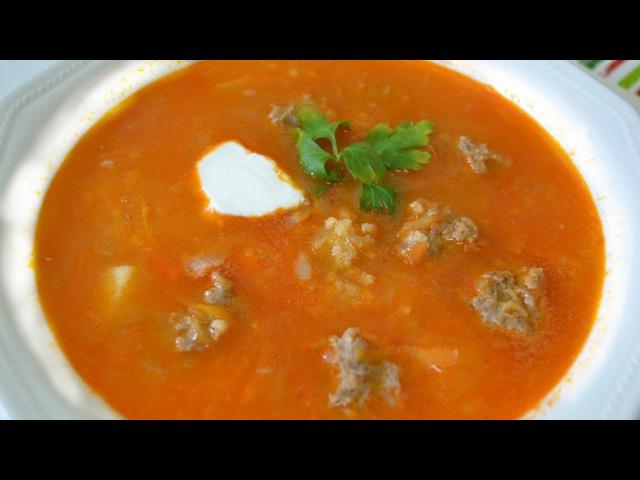 Суп Капустняк с фрикадельками - Семейная кухня