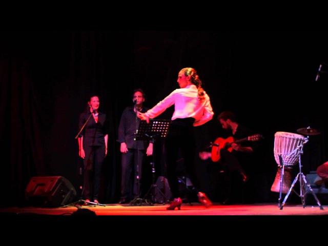 Jazmín Centeno. Flamenco. Buenos Aires 2015. FARRUCA entera .
