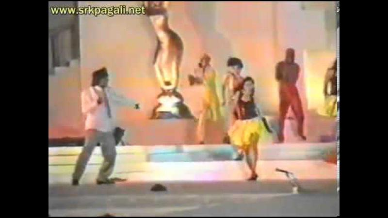 Filmfare Awards 1993 - Shah Rukh Khan Kajol _ Baazigar - Yeh Kaali Kaali Aankhen Performance Live