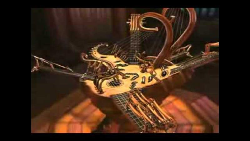 Фантастическая гусли самогуды гитара лютня банжо бас арфа дОбро