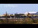 Two Bombardier Canadair CL-415 take off from Brindisi Airport