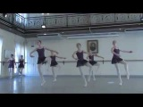 A high standard is amazing.Vaganova Academy.6-Ballet class,ekzam.Gribanova.Part-2 -2011 Year.
