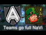 Funniest game of Frankfurt Major — Alliance vs 4CL go full NaVi
