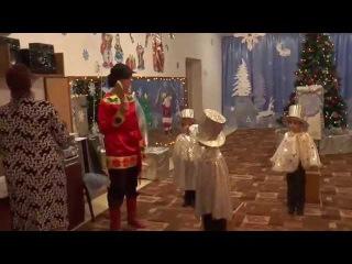 """Новый год 2015 в детском саду """"Антошка"""""""
