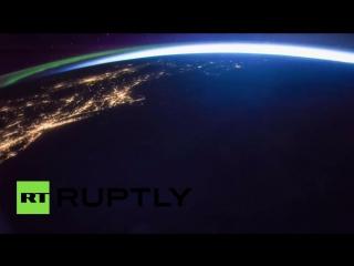 Красота. NASA опубликовало видеосъемку грозы с борта МКС