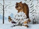 охотник и медведь прикол смех мультфильм