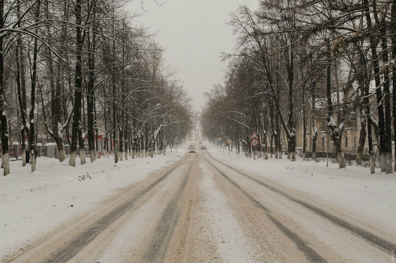 Улица Репина в Гайве