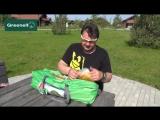 Кемпинговые палатки GREENELL Испытание ткани палатки ОГНЁМ!