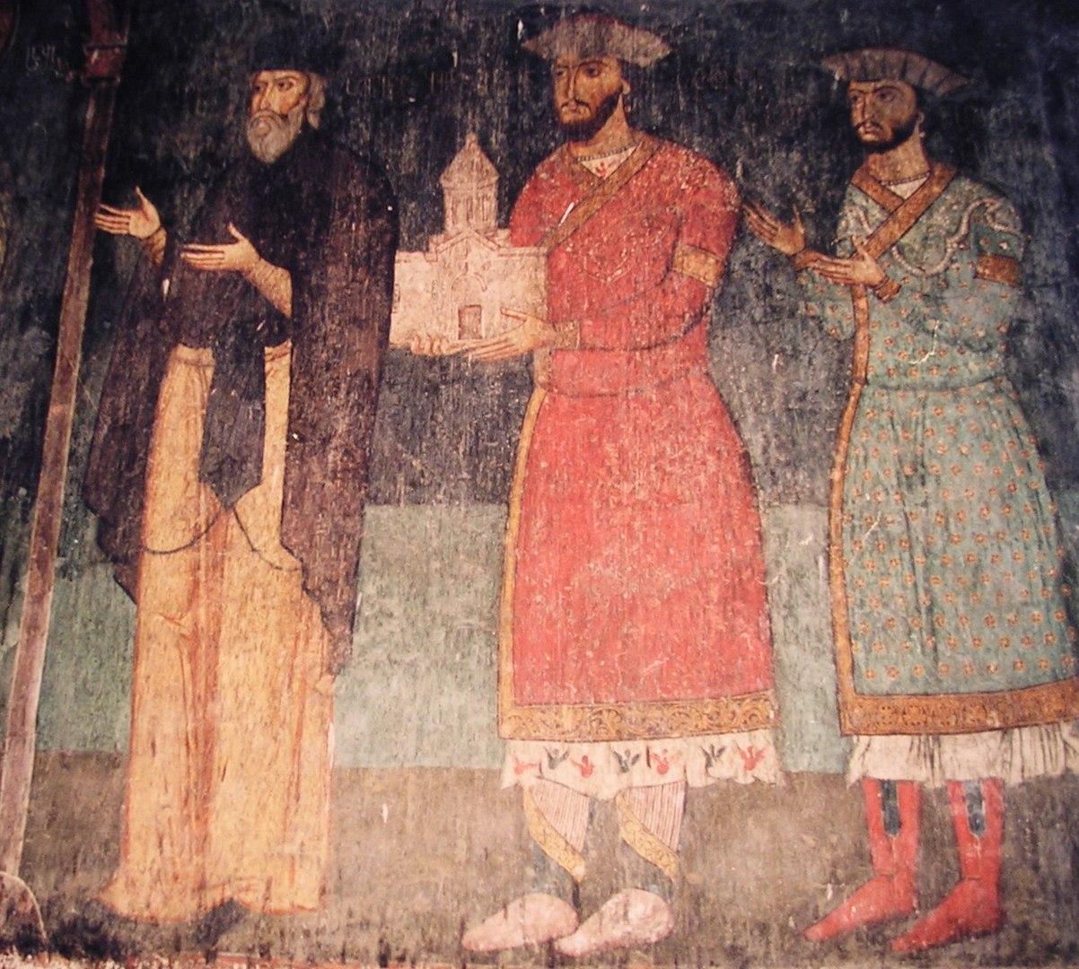 Грузинская фреска