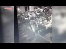 LifeNews публикует видео обрушения казармы ВДВ в Омске