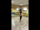 Ника (импровизация). Ученица студии восточного танца Daliya