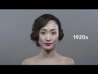 Япония: XX век в макияже за 1 минуту