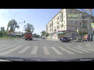 Авария в г. Пенза на перекрестке улиц Максима Горького и Урицкого | ДТП авария