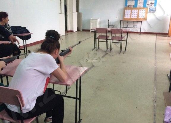 Школьники из станицы Сторожевой сдают нормы ГТО