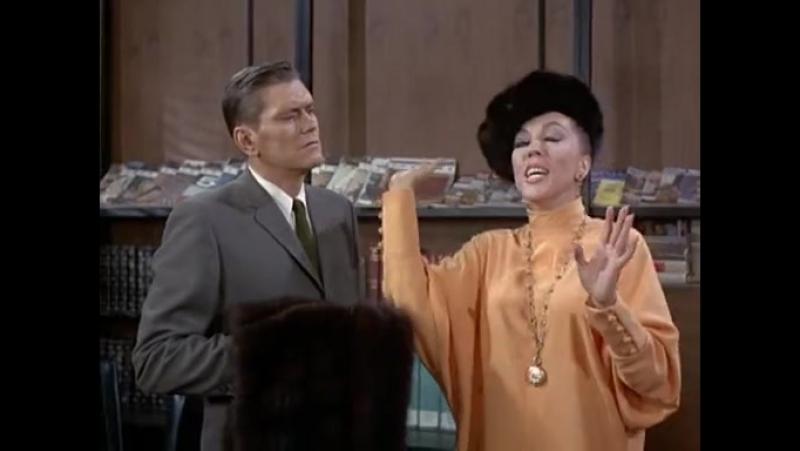 Моя жена меня приворожила(Bewitched;Околдованный)(США,1964-1972г.г.)Сезон 3,30-я серия(104-я серия).
