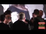 Danny Huston and Jack Huston arrives to the Vanity Fair Oscar Award Party