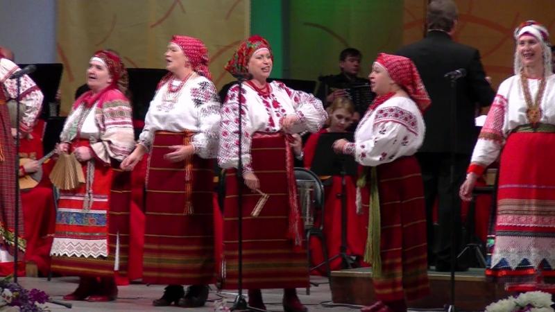 ЦТРК Параскева Пятница, нар.песня Дорожки (04.11.15)