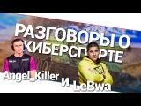 Разговоры о киберспорте - Angel_Killer и LeBwa! World of Tanks (WoT)