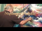 Abstract Art Expressionist Painting Demo 'Neptunes Palette' How to