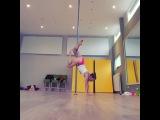 Yvonne Smink pole dance