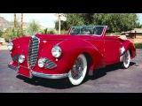 Delahaye 135 Cabriolet par Vanden Plas '1947