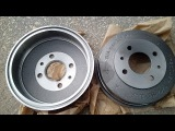 Замена тормозного барабана ВАЗ 21099
