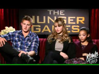 Interview of Jennifer Lawrence - Alexander Ludwig - Amandla Stenberg about The Hunger Games