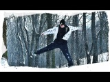 DANCE C-WALK ON A COLD DAY / ТАНЕЦ C-WALK НА МОРОЗЕ.