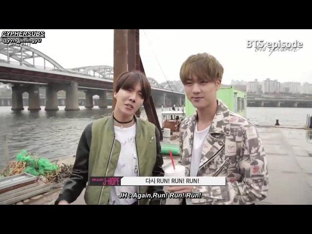BTS Run MV Making behind the scene [eng sub]
