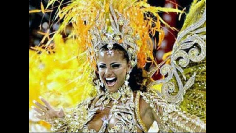 Зажигательные бразильские танцы! Самба-Карнавал.
