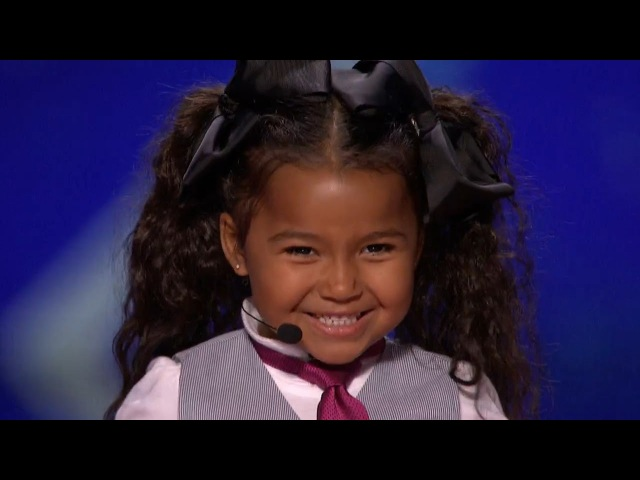 America's Got Talent 2015 S10E06 Heavenly Joy Jerkins 5 Year Old Singer Is The Next Shirley Temple