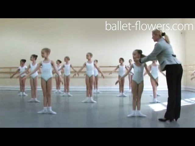 Vaganova Ballet Academy Classical Dance Exam Girls 0 class pre entry courses 2011