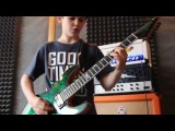 DEEP PURPLE - Burn Mark Ivanov Cover,(Alex Senyushin Guitar School)