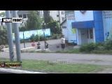 Новости от Ватника: По Донецку на броне. Как нас встречают местные жители...