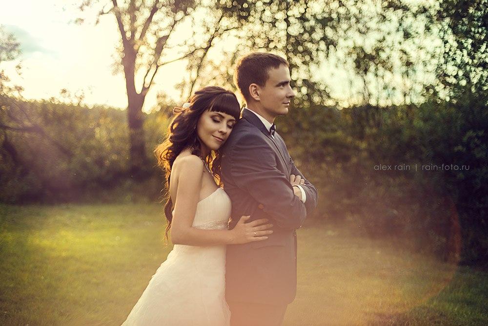 фотосессия свадьбы на природе фотограф новосибирск
