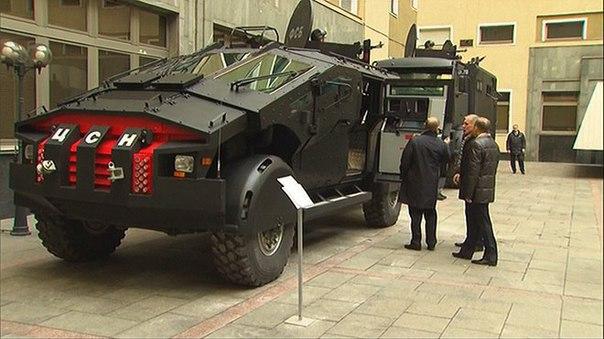 Новый броневик ФСБ, Batman бы одобрил