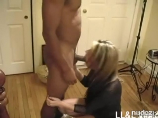 A_wife_makes_her_little_dick_husband_watch_her_fuck_her_black_lover