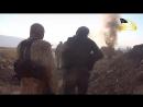 Таджики из Нусры, засада, сирийский БМП.(видео содержит сцены насилия !+21)