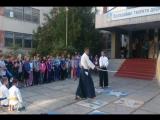 Показательное выступление айкидо в школе номер 40