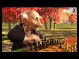 Geris Game (Игра Джери) короткометражный мультфильм