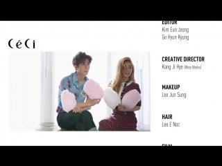 [BTS] 160119 EXO's Sehun and Red Velvet's Irene @ CeCi Make a Promise