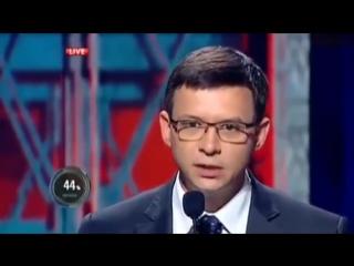 Участники ток-шоу Шустер LIVE опешили от выступления нардепа Украины Евгения Мураева.