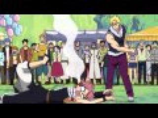 Fairy Tail - дуель Нацу и Лексуса