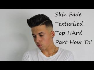 Skin Fade With Texture - Kieron The Barber -