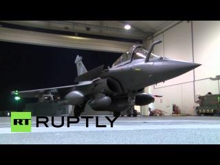 Катар: Французский истребитель попал Исламского Государства позиции в Сирии.