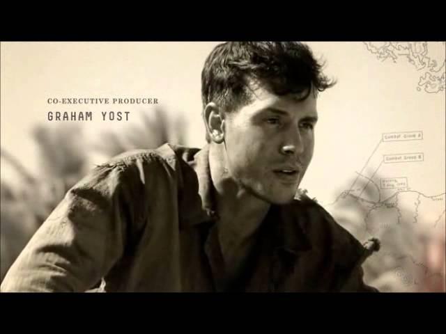 Заставка к фильму На тихом океане The Pasific 2010 wmv