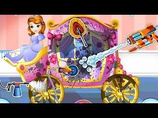 NEW Мультик онлайн для девочек—Карета Принцессы Софии—Игры для детей