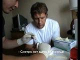 Александр Емельяненко капа для Чемпиона Alex Emelyanenko gum shield for the Champion